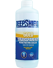 gold transparent penetrating sealer 1 litre