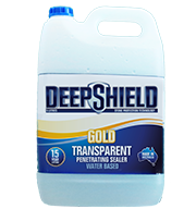 gold transparent penetrating sealer 5 litre