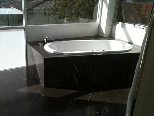 granite tile bathroom