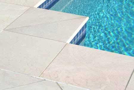 Outdoor Sandstone Tile Pool