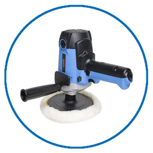 sealing and polishing floor tool